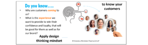 How marketing can apply service design thinking to do KYC (know your customer)